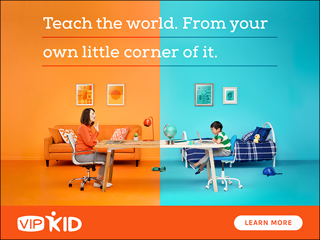 What's this VIPKid thing Amelia keeps posting about?