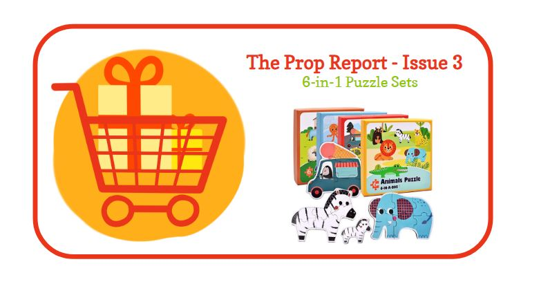 The Prop Report #3 – 6-in-1 Puzzles