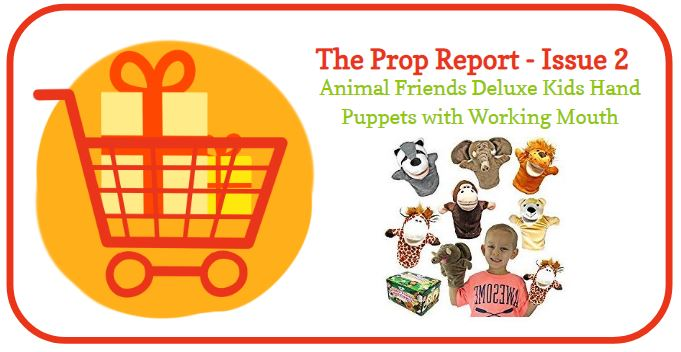 The Prop Report #2 – Joyin Animal Friends Hand Puppets