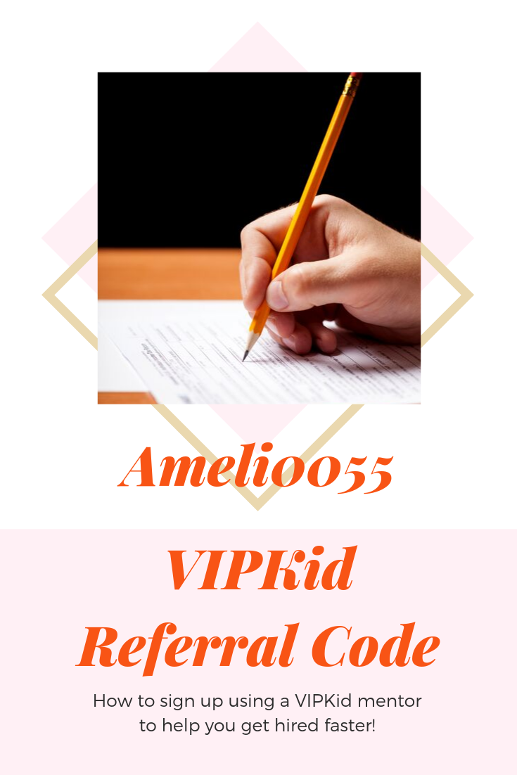 Adding a VIPKid Referral Code