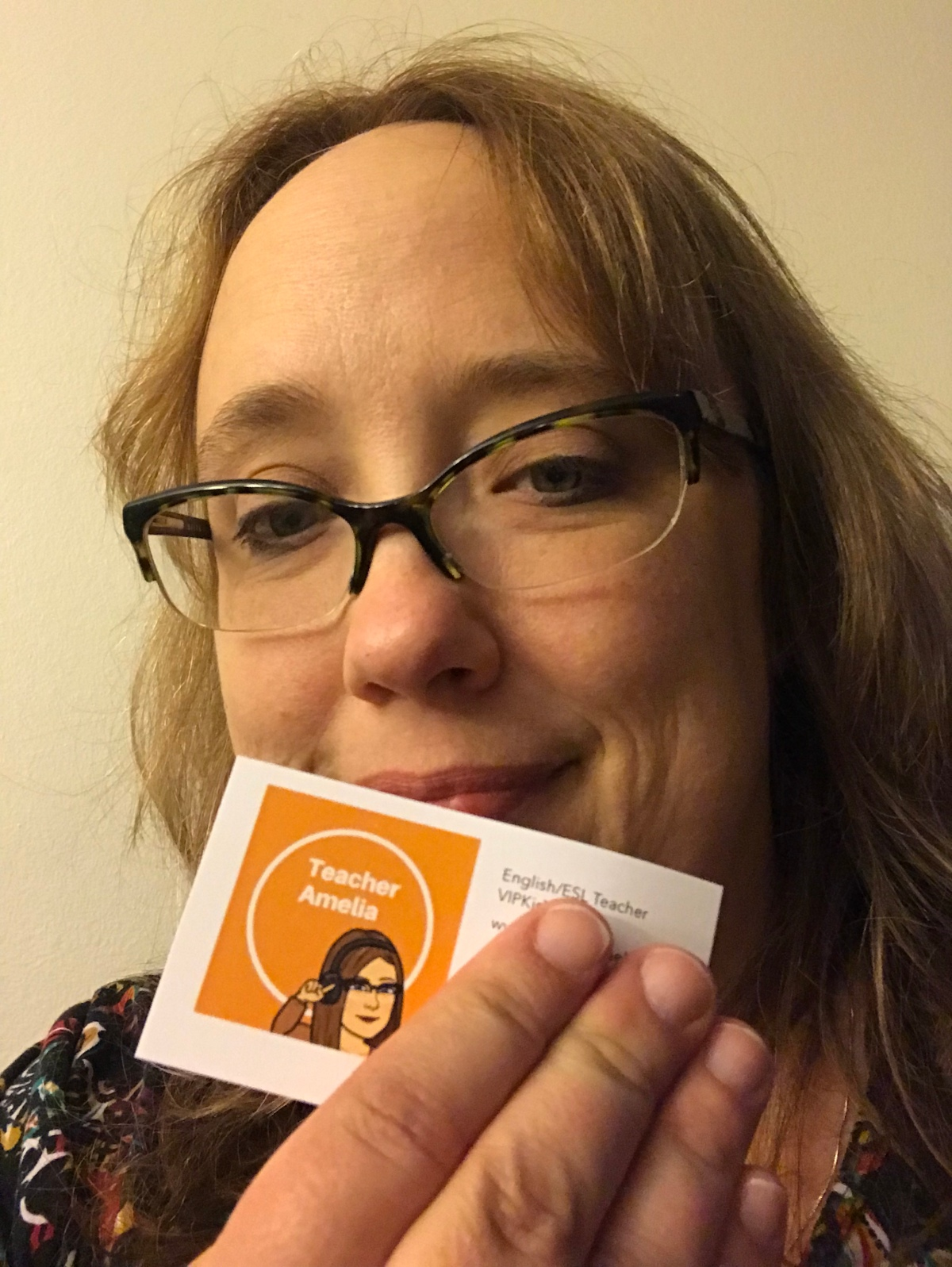 VIPKid Business Cards
